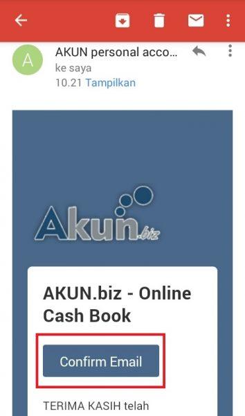 Register AKUNbiz