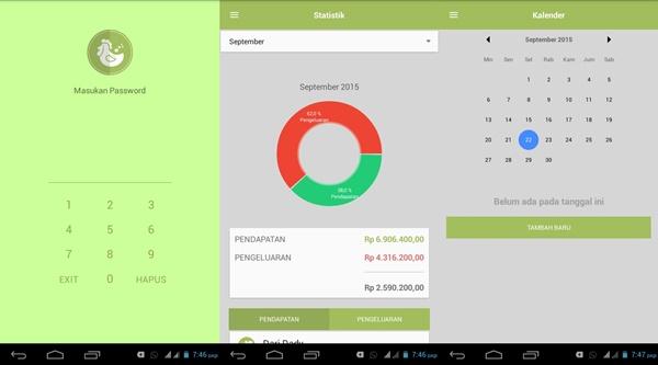 Aplikasi keuangan saat ini