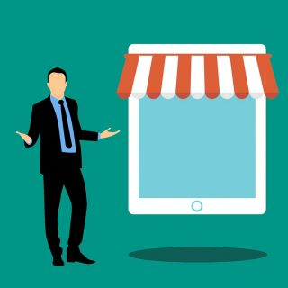 bisnis online atau offline