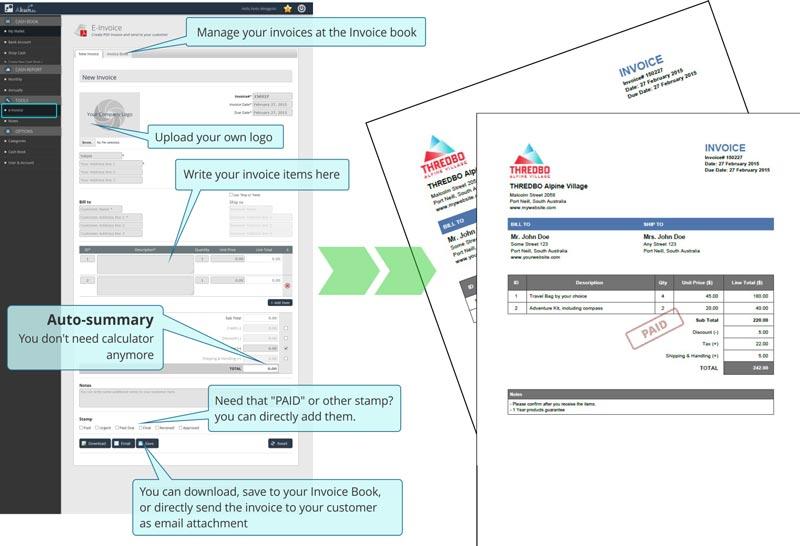 online invoice